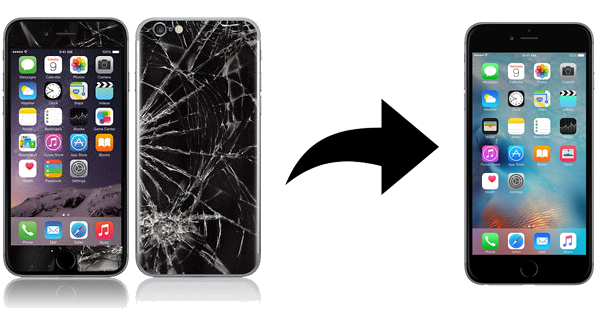 Broken phone png. Sell your cell or