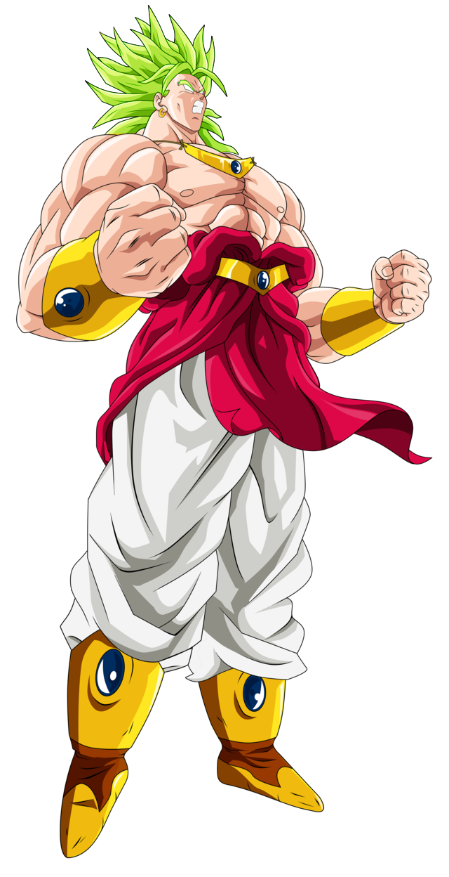 Broly dragon ball png. Image the legendalkry super