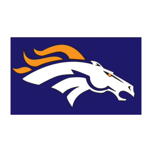 Broncos vector art. Denver outline black and
