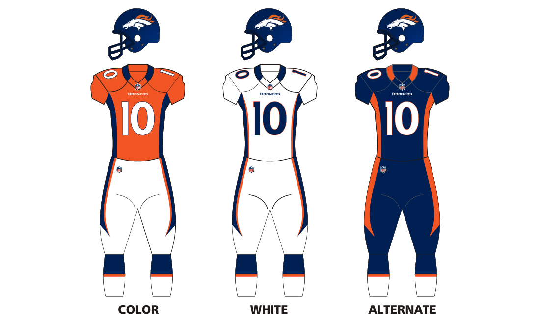 Broncos vector history. File uniforms png wikimedia