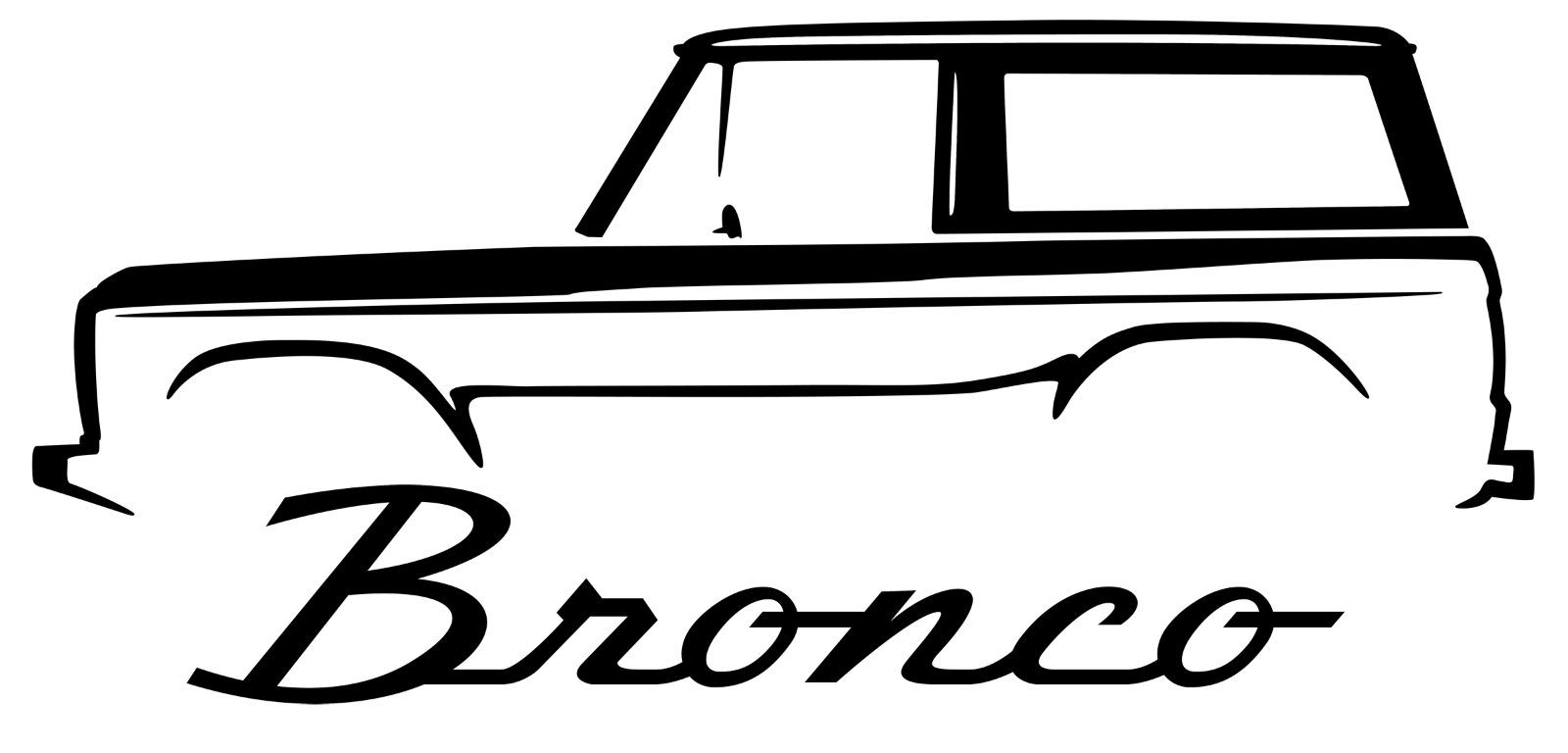 Broncos vector outline. Hello and thanks for
