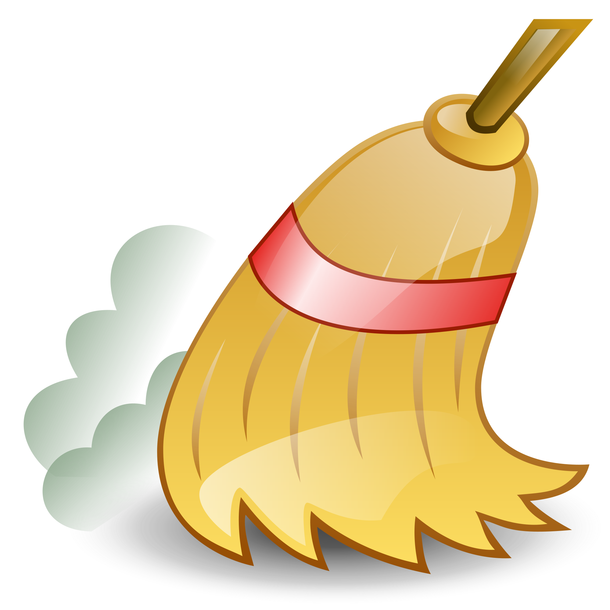 Broom clipart baseball sweep. Do not lean a
