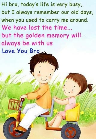 Brother clipart eld sister. Birthday quotes for elder