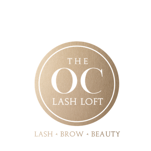 Brow and lashes template png for business cards. The oc lash loft