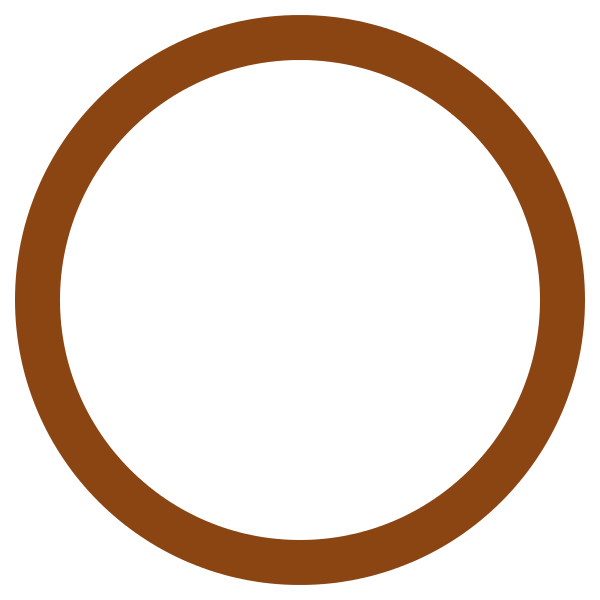 brown circle png