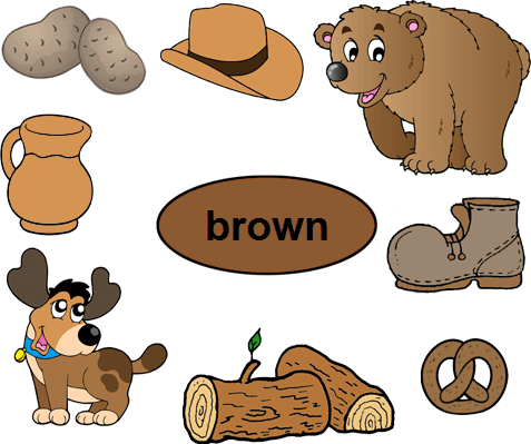 Brown clipart brown object. Objects free puppy many