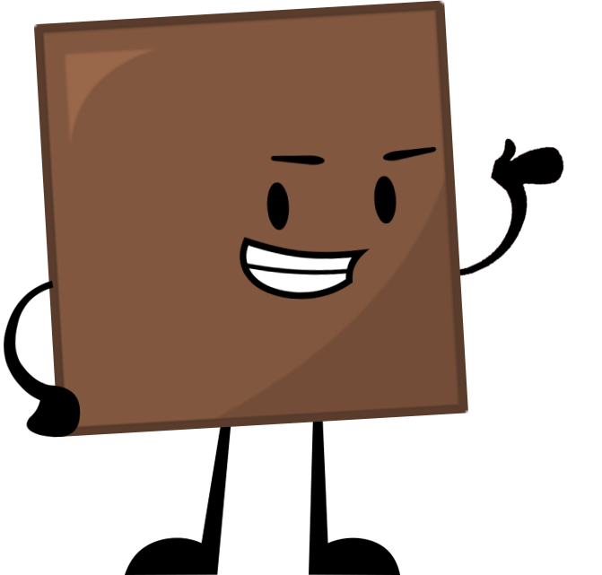 Brown clipart brown object. Square the shorts wiki