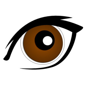 Brown clipart clip art. Eye at clker com
