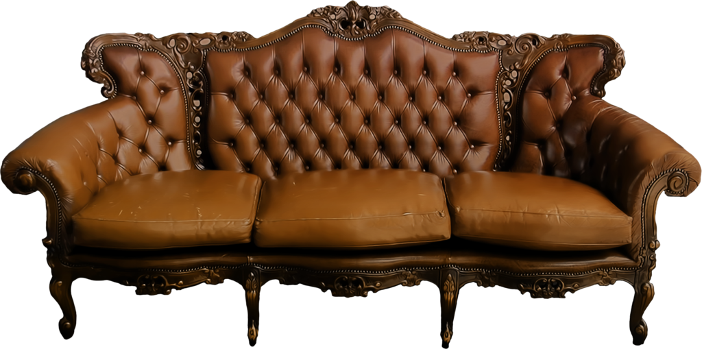 Brown couch png. Sofa hd transparent images