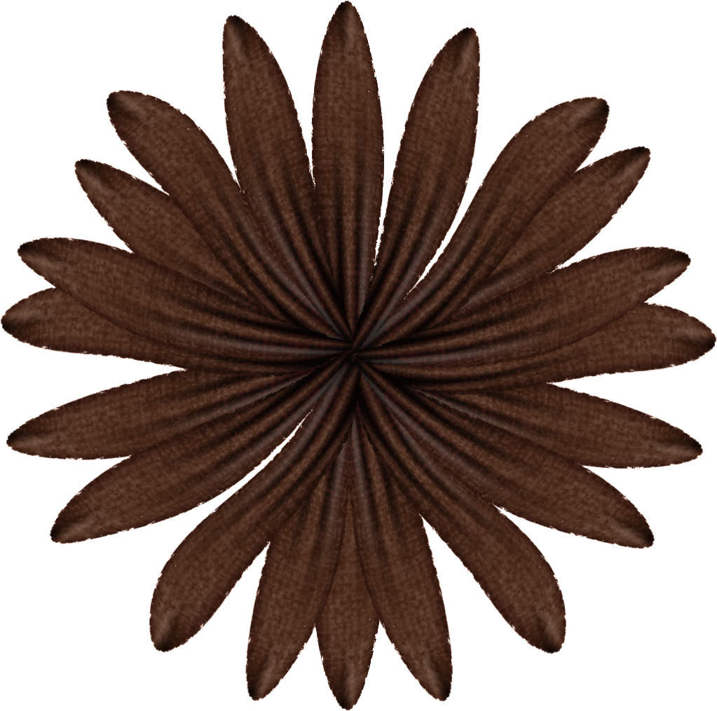 Brown flower png. Flowers story by janet