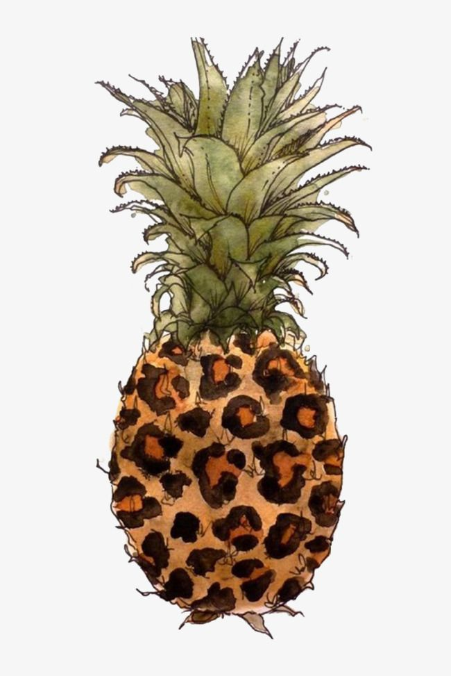 Brown pineapple