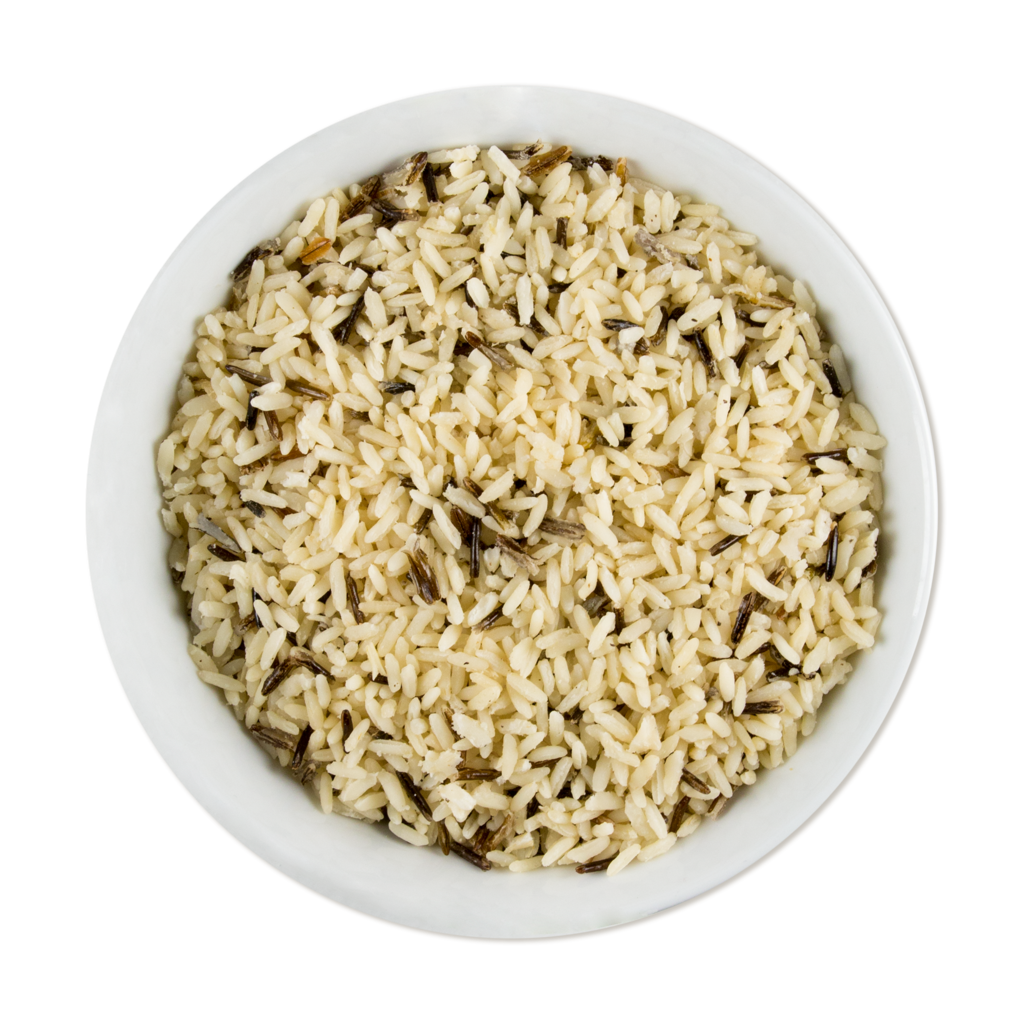 Brown rice png. Wild pilaf chefs menu