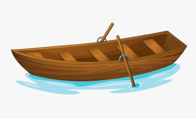 Brown ship. A boat png clipart