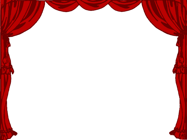 Brown stage curtains png. Clipart theatre huge