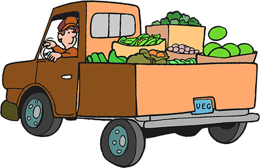 Brown truck. Clipart s free cliparting