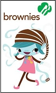 Brownie clipart easy. Best girl scout