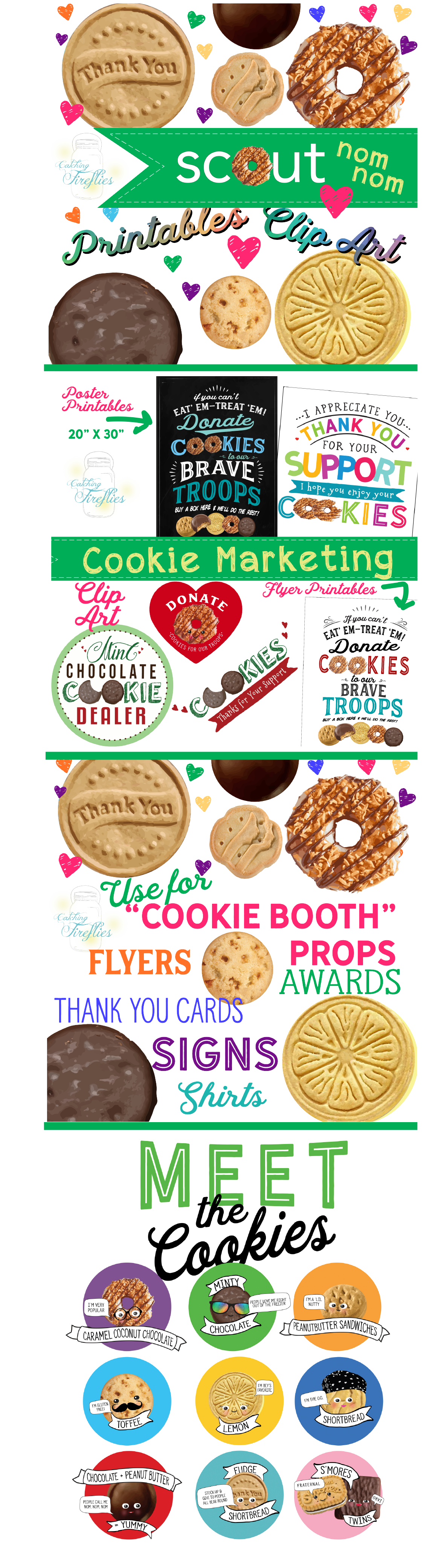 Brownies clipart cookie brownie. Girl scout clip art