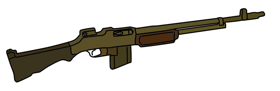 Browning automatic rifle png. M by whellerng on