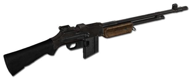 Browning automatic rifle png. Image ww pacific front