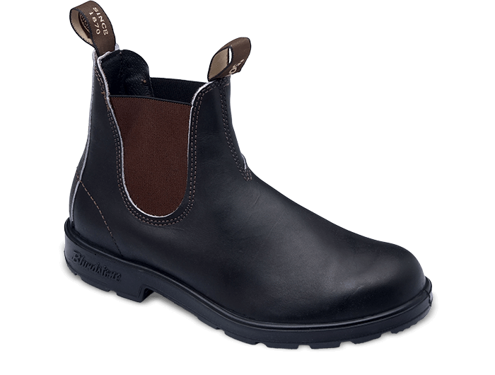 Browns shoe fit png. Stout brown premium leather