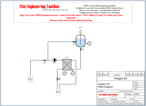 Draw p id diagrams. Browser drawing banner free download