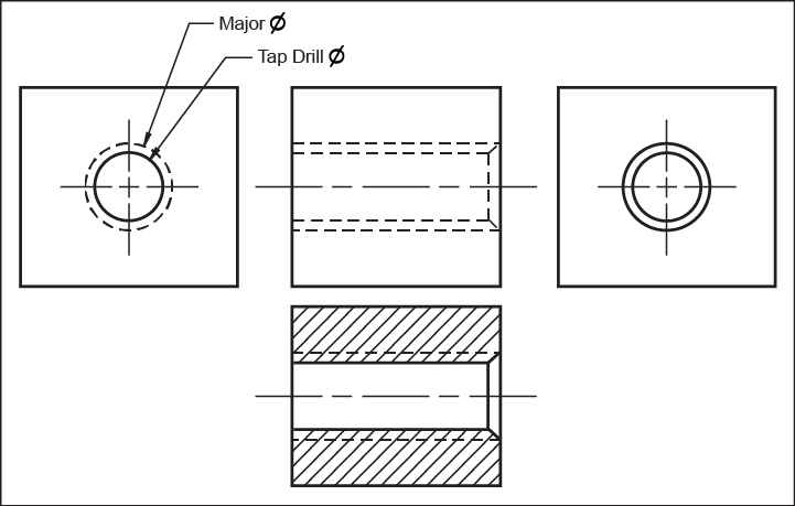 manufacturing drawing detailed