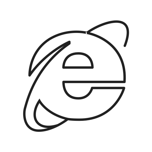 Drawing browser icon. Google internet net online