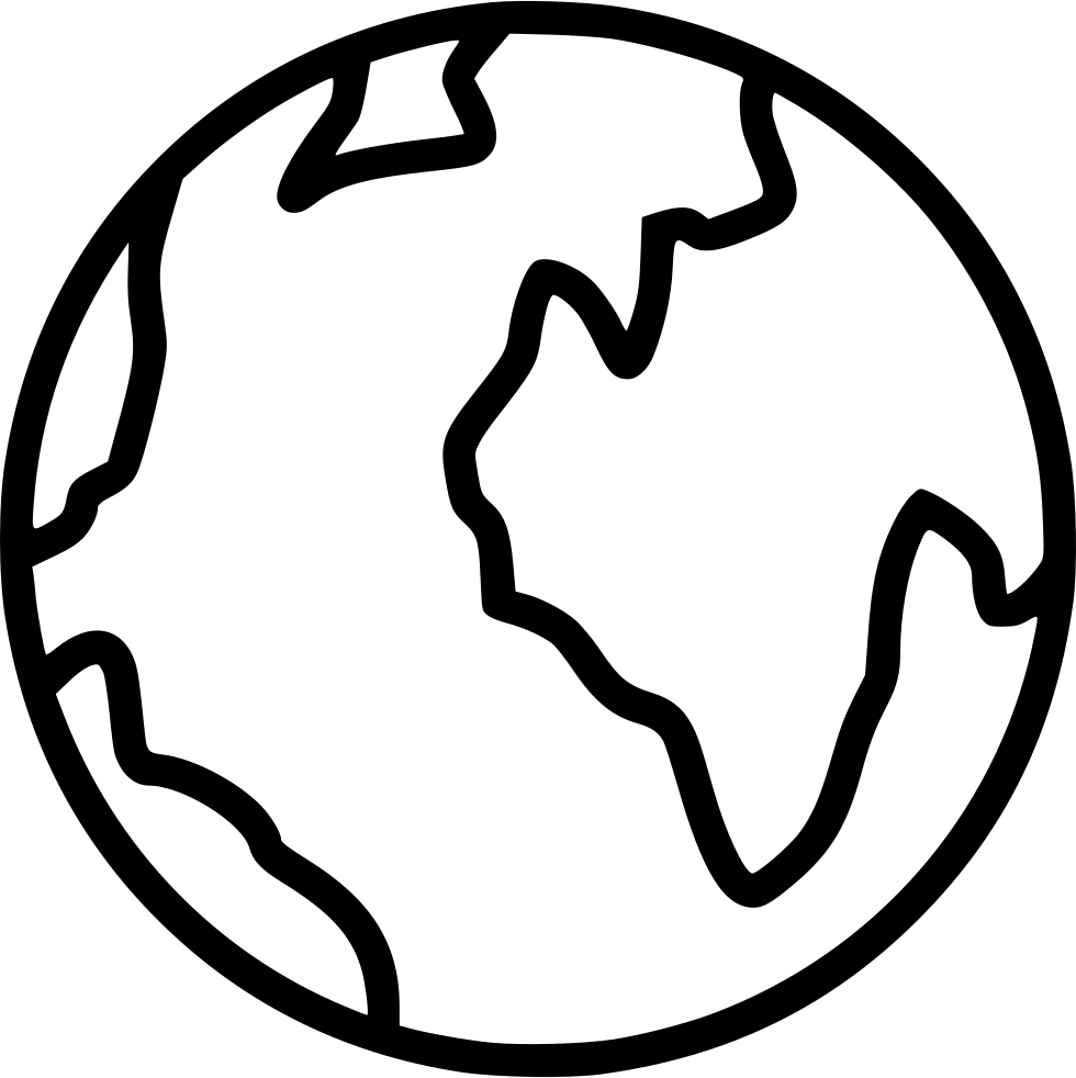 Drawing browser png. Internet globe earth svg