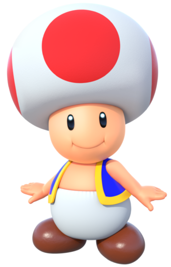 Toad transparent mario brothers. Super bros allies characters
