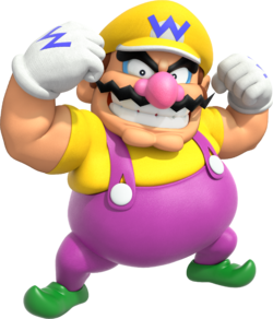 Browser drawing mario character. Wario super wiki the
