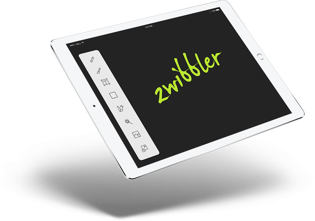 Browser drawing web. Zwibbler what you get