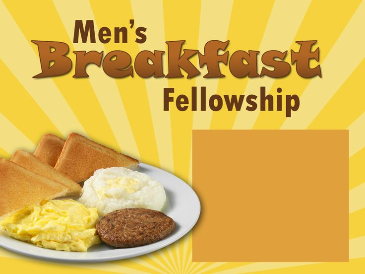 Brunch clipart fellowship. Best men s