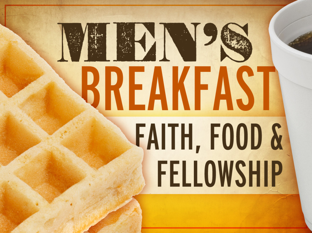 Brunch clipart fellowship. Men s breakfast grace