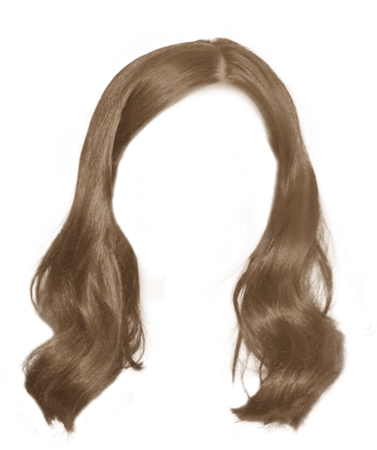 Brunette hair png. Styles free images light