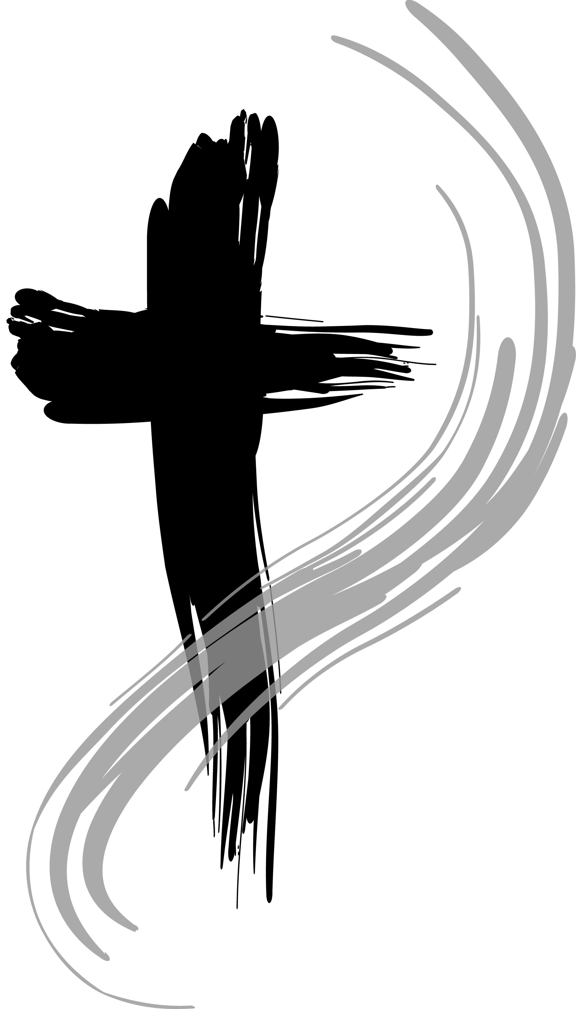 Brush clipart cross. Holy week clip art