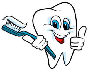 Toothbrush clip healthy tooth smile. How to properly brush
