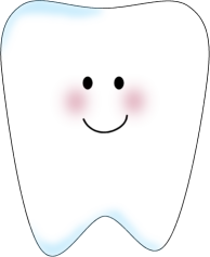 Tooth clip art image. Teeth clipart png black and white