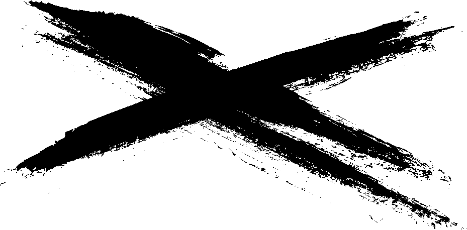 Cross brush png. Dry stroke transparent