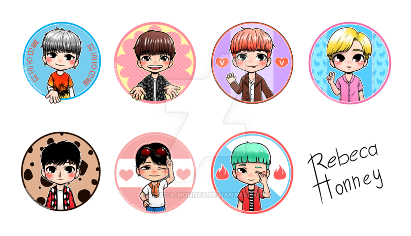 Bts chibi png. Fire all members by