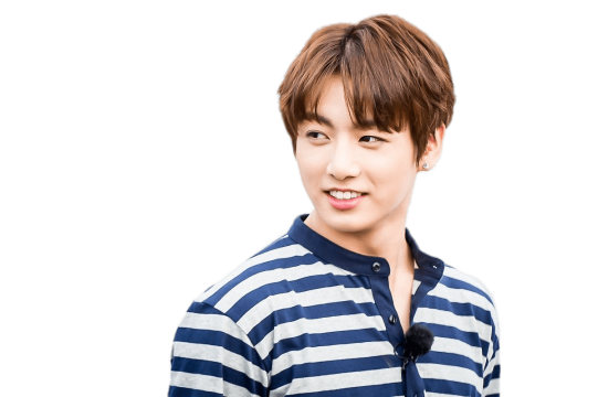 Jungkook png. Bts striped shirt