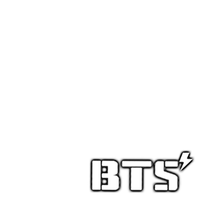 Bts logo png white. Twibbon for armys support