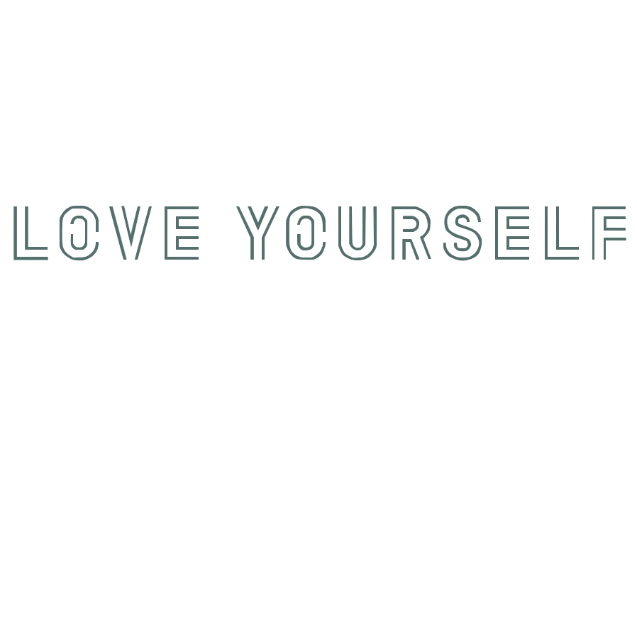 Bts logo png white. Love yourself by yinnng