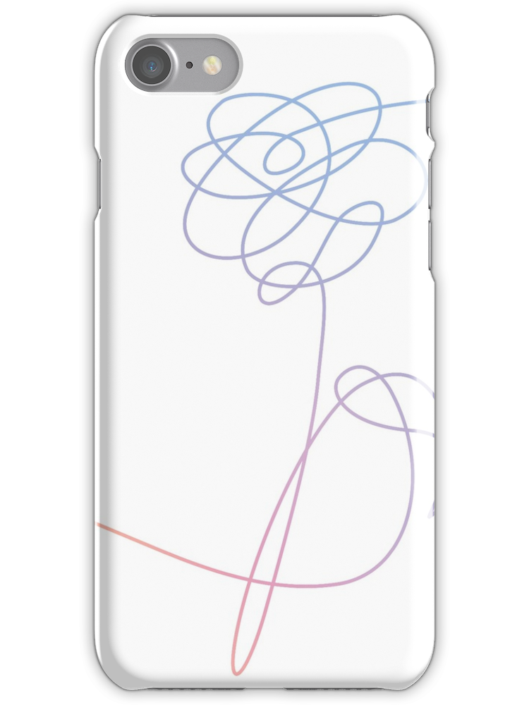 Bts love yourself flower png. Iphone snap case products