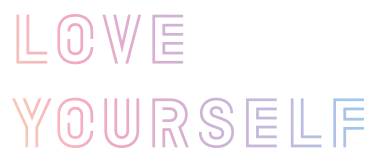 Bts love yourself png. Self imagery clipart logo