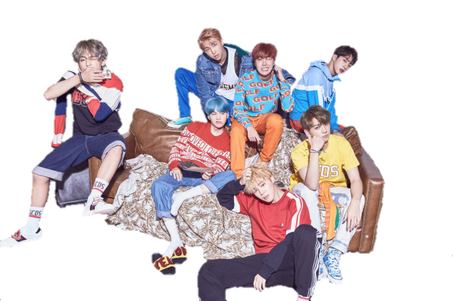 Her v by unbelibubble. Bts love yourself png banner black and white library