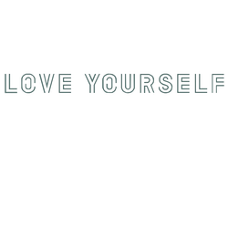 Love yourself png. Fonts logo favourites by