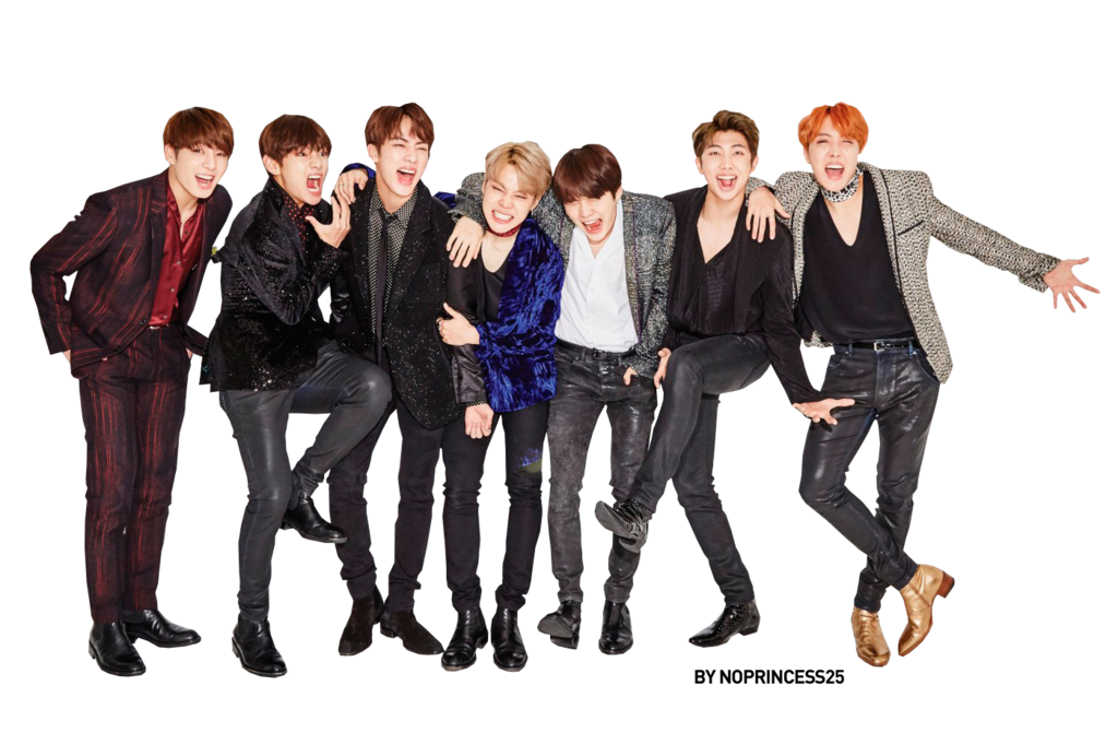 By noprincess on deviantart. Bts png clip black and white stock