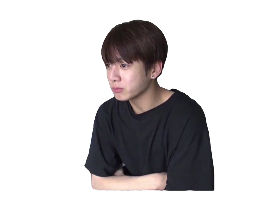 transparent jungkook v neck