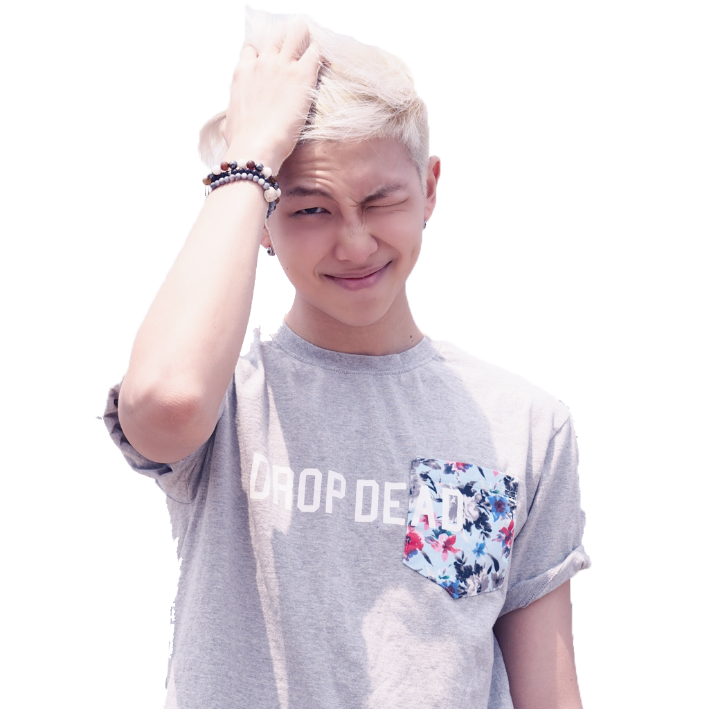 Bts rap monster png. Kpop is life tbh