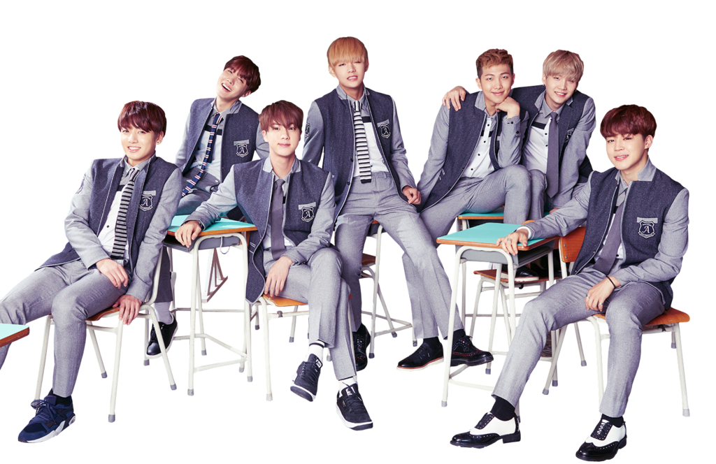 Bts school png. High uniform by superseoul